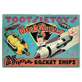 1937 Tootsietoy's Buck Rogers 25th Century Rocket Ships in Original Box