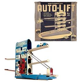 1941 Wolverine, No.19 Mechanical Auto Lift in Original Box