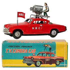 1953 George Wagner, NBC TV Camera Studebaker Car in Orig Box