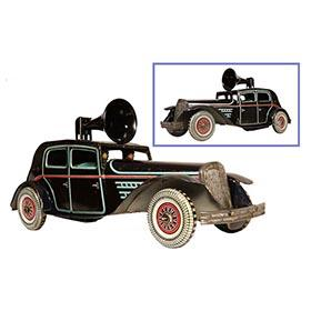 1940 Wells-Brimtoy Ltd., Clockwork Police Emergency Patrol Car