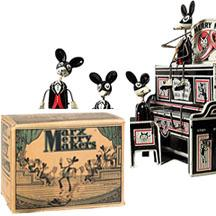 c.1931 Marx, Mechanical Merry Makers with Marquee and Original Box