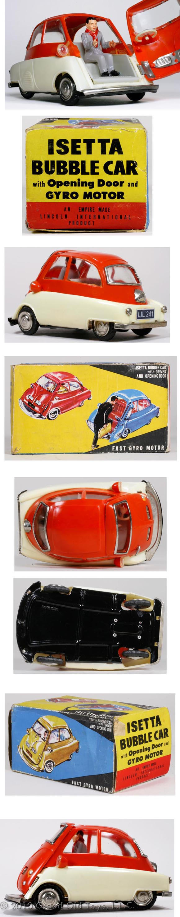 the popular BMW Isetta toy